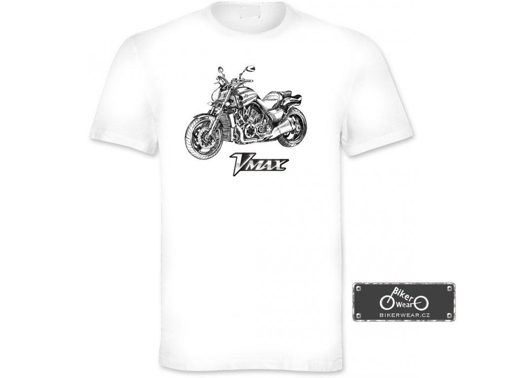 Tričko Yamaha V Max – BikerWear 6548a78142