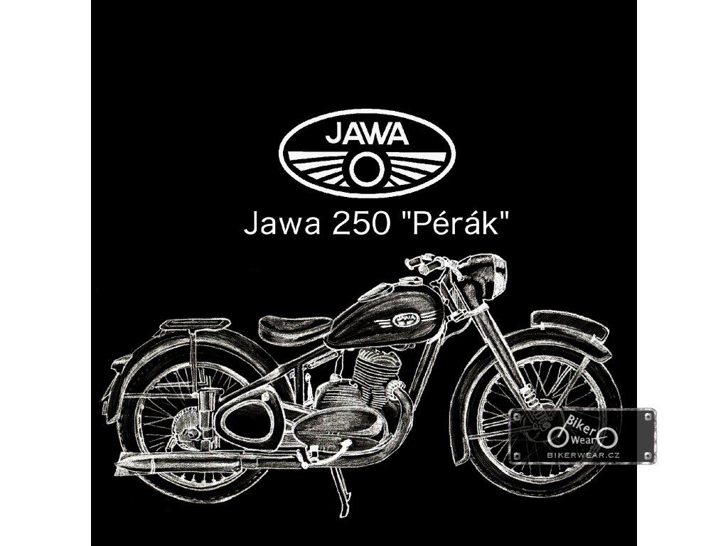 Moto Tričko Jawa 250 Pérák – BikerWear 4ad1995d7c
