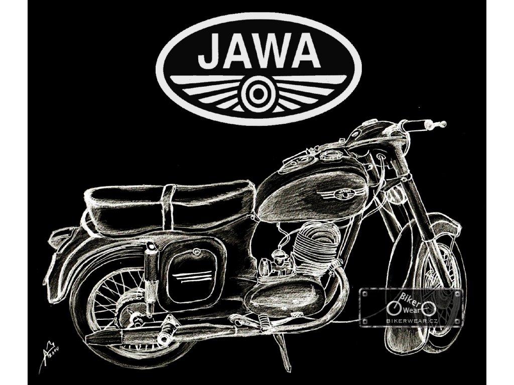 Tričko JAWA 175 – BikerWear e201a95af8